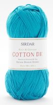 Sirdar Cotton Double Knit 100g - 515 Bluebird - CLEARANCE PRICE £2.99